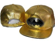 Batman Classic Men's Snapback Hip Hop Hat