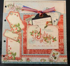 July Page -  A time to Flourish by Jan Kruger