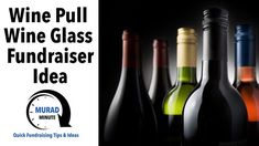 Wine pulls--everybody loves them and they can raise a lot of money for your non-profit. Watch this Murad Minute Video and our others on the topic to learn how you can tailor them to your event theme and take your event to the next level. #winepullfundraiser #winepullfundraiseridea #winepullfundraisertips #fundraisingidea #fundraiseridea #winepull #winepulls #fundraising #nonprofit #fundraiser Wine Pull, Event Themes, Fundraising, Wine Glass, Learning, Bottle, Money, Watch, Clock