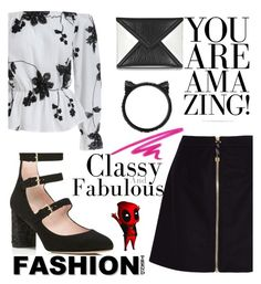 """#Work"" by juromi on Polyvore featuring Kate Spade, McQ by Alexander McQueen, Acne Studios and NARS Cosmetics"