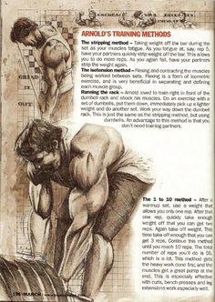 Arnold Schwarzenegger Olympia Training Secrets of the Oak