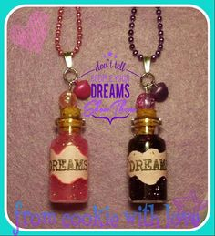 Put your dreams in a bottle and take good care of it  Fülle deine Träume in eine Flasche und pass gut drauf auf