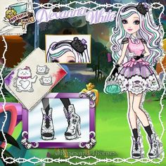 Ever After High, Character Questions, Art Style Challenge, Ever After Dolls, Instagram Artist, High Art, Art Reference Poses, Monster High Dolls, Kawaii Drawings