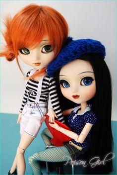Shannon & Gillian - Pullip Cinciallegra & Kaela   Flickr - Photo Sharing!