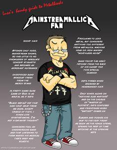 Metal 101- The Mainstreamallica Fan by LusoSkav.deviantart.com on @deviantART