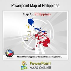 Philippines flag 02 powerpoint templates red orange and yellow the philippine flag is the only flag in the whole world that is displayed differently in times of peace and war in peace time the blue side is put on top toneelgroepblik Image collections