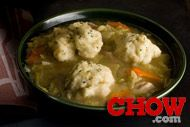 Talk CHOW: Hearty and Easy Chicken Dumpling Soup