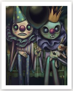 Afterland - A collectible card game on iTunes and Google Play #Afterland Dark Art Illustrations, Illustration Art, Dark Circus, Hair Drawings, Darkness Falls, Dark And Twisted, Lowbrow Art, Pop Surrealism, How To Draw Hair