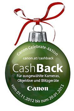Bis zu Euro 200,- Geld zurück: Die Canon Celebrate-Aktion macht jeden Tag zu einem Fest   Fotograf: Canon Austria   Credit:Canon Austria   Mehr Informationen und Bilddownload in voller Auflösung: http://www.ots.at/presseaussendung/OBS_20121121_OBS0006