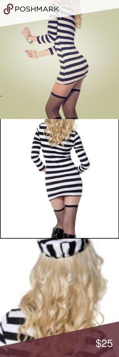 Wrist Shackles Prison Handcuffs Halloween Costume Party Chain Links Cosplay BIN