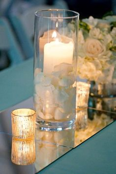 Centerpiece Centerpieces Wedding Reception Photos & Pictures - WeddingWire.com