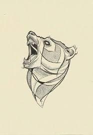 Risultati immagini per bear tattoo sketch Maori Tattoos, Bear Tattoos, Animal Tattoos, Body Art Tattoos, Ship Tattoos, Gun Tattoos, Ankle Tattoos, Arrow Tattoos, Tatoos