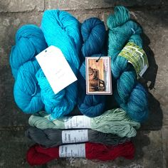 The yarn haul! On Thursday this weekI travelledwith two of my Yak& Yarn groupfriendsto our nearest Hill Country Yarn Crawl  participating store: WC Me...