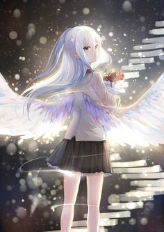 Angel Beats! - Kanade Tachibana (立華 かなで) -「KANADE」/「SS@CP17」のイラスト [pixiv]