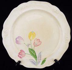 """Homer Laughlin Dinnerware 9"""" Salad Dinner Plate E34 N8 China"""