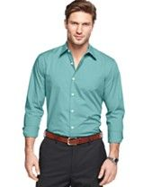 John Ashford Long Sleeve Shadow Striped Shirt