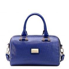 Blue Boston Tote Bag
