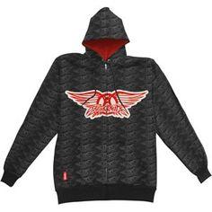 YGYP Sudadera de Mujer WomanS Stylish Aerosmith-Mens Faded Wings Hoodie Sweatshirt with Pocket Black