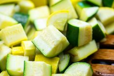 The EASIEST Sauteed Zucchini and Squash - perfect summer side dish! Low Carb Side Dishes, Healthy Side Dishes, Side Dishes Easy, Sauteed Zucchini Recipes, Sauteed Zucchini And Squash, Chicken Zoodle Soup, Baked Chicken Drumsticks, Zucchini Casserole, Green Veggies