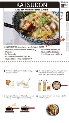 Do this to the inside of my craft armoir! Wine Recipes, Asian Recipes, Cooking Recipes, Healthy Recipes, Japanese Chicken, Japanese Food, Asain Food, Christina Lorre, Katsudon