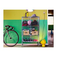 IKEA PS 2017 Storage unit $99 - great for sports equipment or other kid stuff