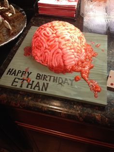 Awesome brain cake