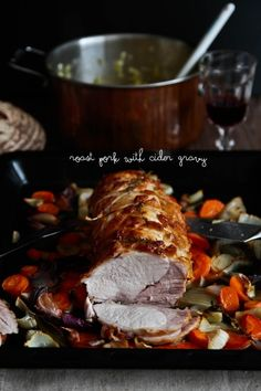 Roast+Pork+Loin+With+Cider+Gravy