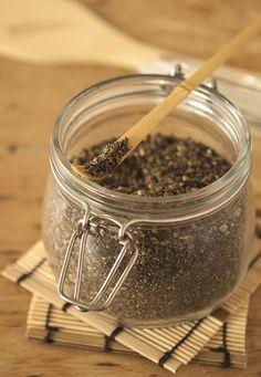 » Gomasio aux graines de chanvre, sésame et pavot   Clea cuisine