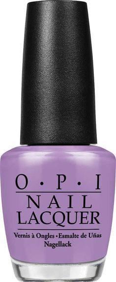 OPI Do You Lilac It? Nail Lacquer   Light purple with attitude!   Creme
