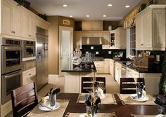 New Home Kitchen Designs Stock Photo Image Architecture House Kitchen