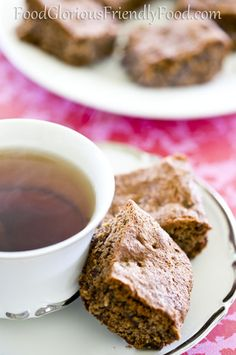 Banana Flour Slice.  Banana flour is an amazing gluten free flour...have a look and give it a go.  This recipe is gluten/dairy/refined sugar and additive free.   http://www.foodgloriousfriendlyfood.com/1/post/2013/10/banana-flour-slice.html