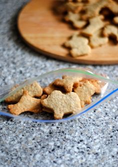 Whole Wheat & Oatmeal Animal Crackers - I sub honey for sugar