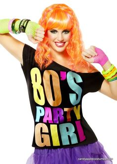 80s Fashion For Women T Shirts S Parties Girls Tees