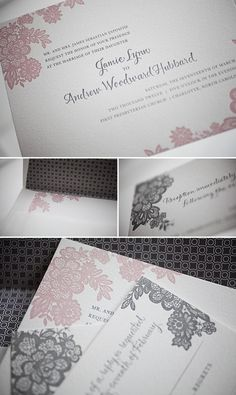 """I like that the font is formal enough for a wedding...but not """"black tie event"""" formal. Ya kno?"""