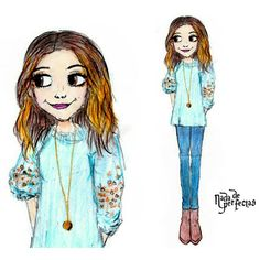 GHannelius (drawing cover) of your visit to @homeandfamilytv for talk about Make Me Nails!  #MMN #HomeandFamily #MakeMeNails ✨💅✨ #GHannelius
