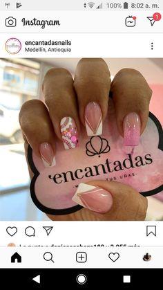 Cute Nails, My Nails, Nail Decorations, Nail Spa, Glitter Nails, Beauty Nails, Nailart, Nail Designs, Hair And Nails