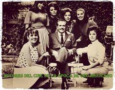 Fanny Cano, Maricruz Olivier, Sonia Infante,Ochoa, con Arturo de Cordoba