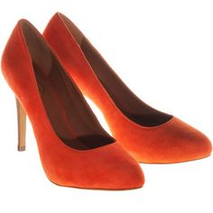 orange shoes for me!!