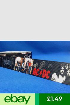 1 metre length of Pink Floyd music design Cake//craft ribbon @ MrsMario/'s