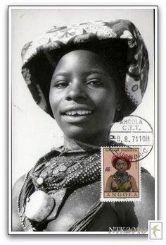 Angola Stamp - 'no Tempo do Kaparandanda'