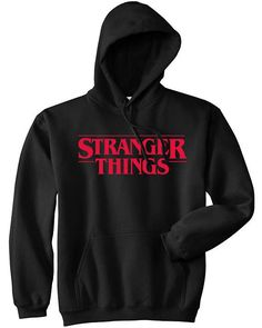 Buy Stranger Things Black Hoodie hoodie is Made To Order, one by one printed so we can control the quality. We use newest DTG Technology to print on to nStranger Things Black Hoodie Stranger Things Merchandise, Stranger Things Hoodie, Stranger Things Quote, Stranger Things Aesthetic, Stranger Things Netflix, Stranger Things Clothing, Vetement Fashion, Hoodie Sweatshirts, Hoody