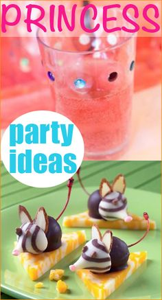 Princess Party Ideas.  Pretty Princess ideas for a picture perfect party.  Celebrate Cinderella or a favorite princess with these sweet ideas.