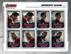 Marvel Avengers Memo