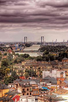 Sevilla Rooftops : View across Seville from the tower of the Cathedral, Seville, Spain. A must see place this Holidays ! Andalusia Spain, Andalucia, Seville Spain, Places To Travel, Places To See, Spain Country, Spain Images, Spain Culture, Nevada Mountains