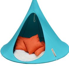 Gorgeous cacoon hammocks for 2 adults or a few kids! http://hammocktown.com/products/cacoon-hammock-turquoise