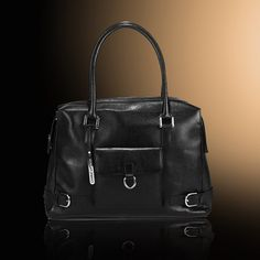 Exclusive real leather Charlie Lapson Bag!  Great for fall!