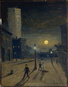 The Metropolitan Museum of Art - New York at Night