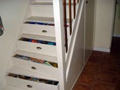 Under stair storage drawers stair drawers staircase with drawers created by stairs drawers plenty of storage . under stair storage Under Stairs Storage Drawers, Staircase Drawers, Staircase Storage, Stair Storage, Staircase Design, Living Place, Basement Renovations, Trends, Bars For Home