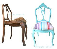 Muitas cadeiras , Antes e depois