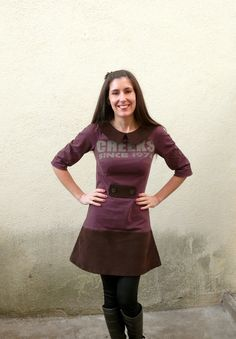 Françoise Dress de Tilly & the buttons. Plus de photos sur mon blog: http://lescreationsdecaroscrap.blogspot.fr/2015/02/dahlia-francoise-livie-roxie-et-un-pull.html